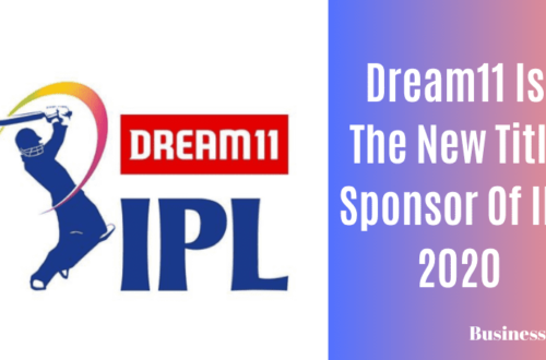 Dream11 is the new title sponsor Of IPL 2020